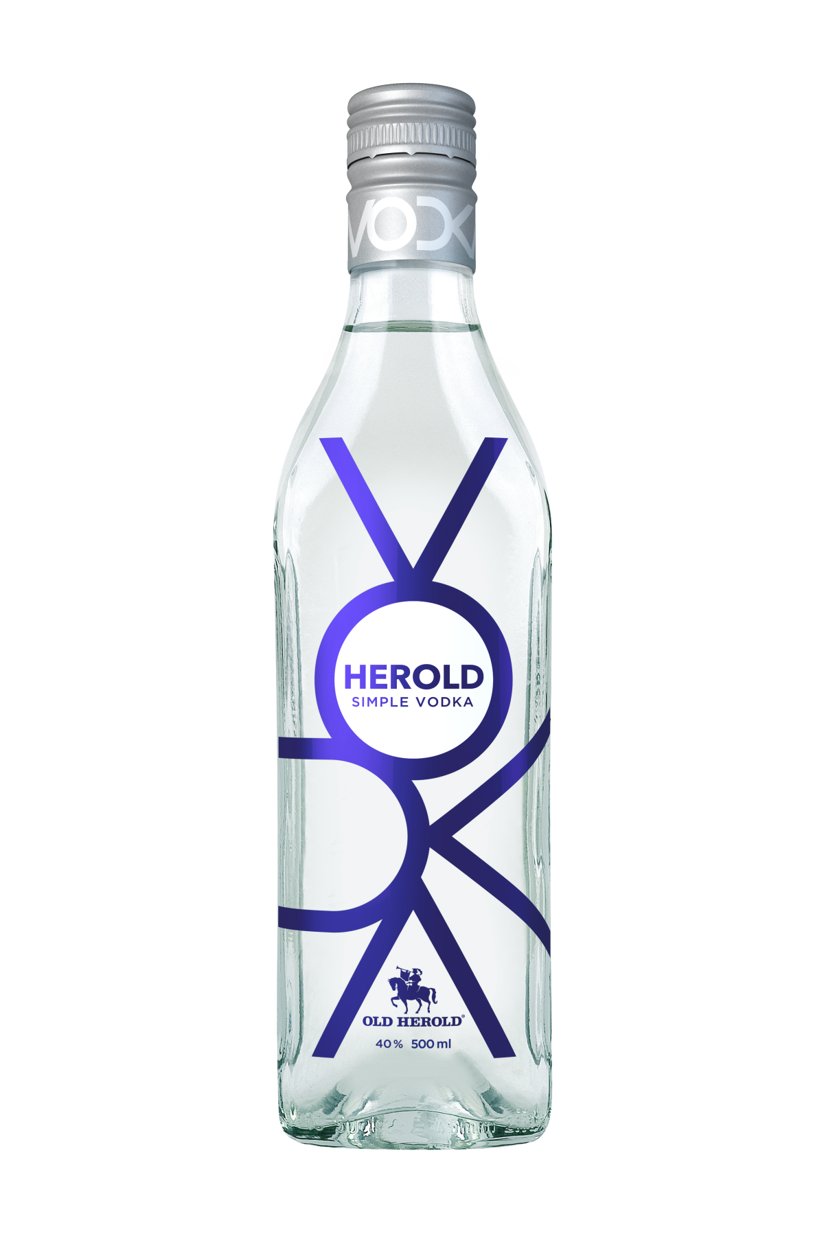 Herold vodka Simple 40% 0,5 L